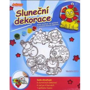 Sluneční dekorace- sada - Cena : 149,- Kč s dph