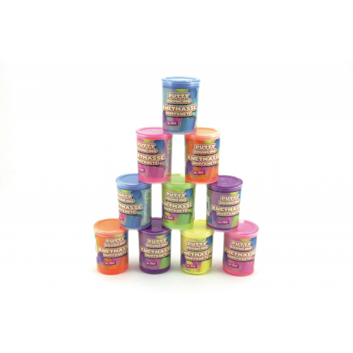 Sliz - hmota hopík 4x6cm 16ml - 6 barev - Cena : 39,- Kč s dph
