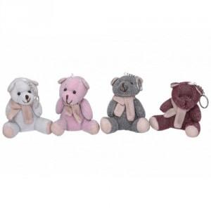 Přívěšek klíčenka medvídek 10cm 4 barvy - Cena : 62,- Kč s dph