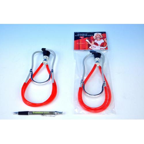 Stetoskop doktorský plast 26cm - Cena : 48,- Kč s dph
