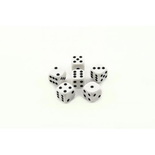 Hrací kostky 13x13mm společenská hra 6ks  9x5x2cm - Cena : 43,- Kč s dph