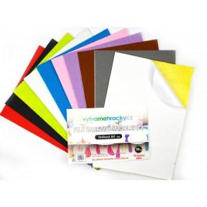 Filc - Samolepicí, mix barev, 10 ks, A4, 180 g - Cena : 133,- Kč s dph