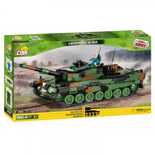Cobi 2618  Small Army Leopard 2 A4 - Cena : 1030,- Kč s dph