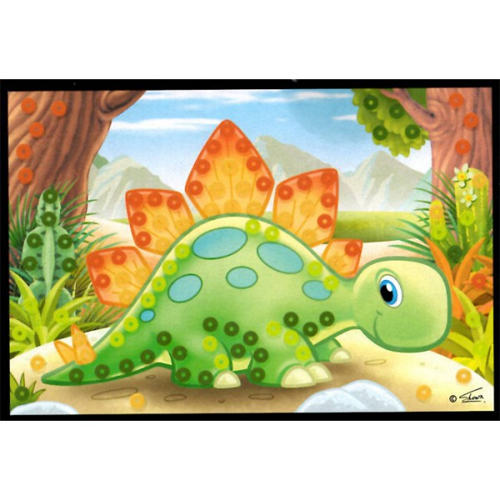 Flitrový obrázek - Dino - Cena : 33,- Kč s dph