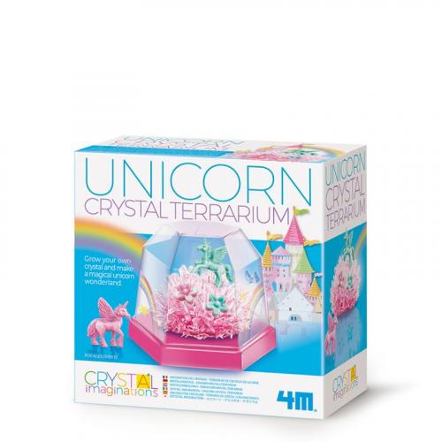 Terárium s krystaly a jednorožci - Cena : 295,- Kč s dph