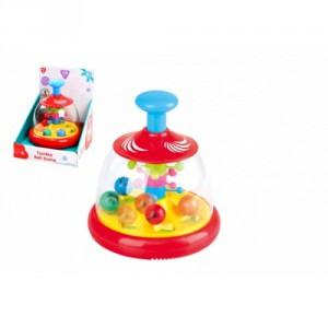 Kolotoč s míčky plast 18cm v krabici 18x23x17cm 6m+ - Cena : 409,- Kč s dph