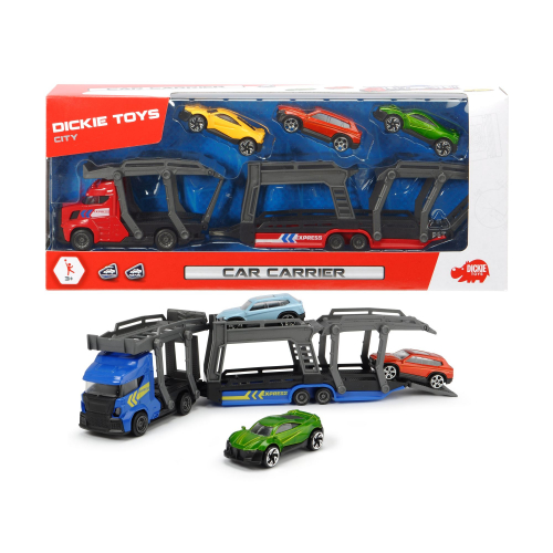Autotransportér 28 cm + 3 autíčka 2 druhy - 2 druhy - Cena : 163,- Kč s dph