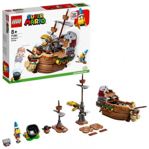 LEGO® SUPER MARIO 71391 - Bowserova vzducholoď – rozšiřující set - Cena : 2211,- Kč s dph