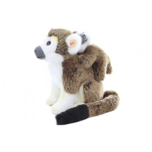 Plyš Kotul opice s mládětem 19 cm - Cena : 275,- Kč s dph