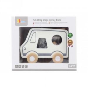 Dřevěná tahačka a vkládačka - nákladní auto - Cena : 406,- Kč s dph