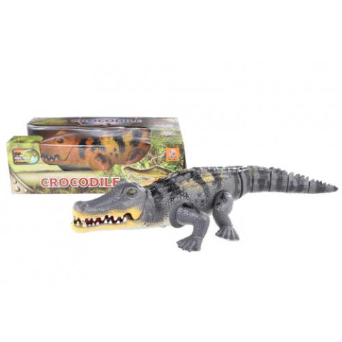 Krokodýl chodící na baterie - Cena : 298,- Kč s dph