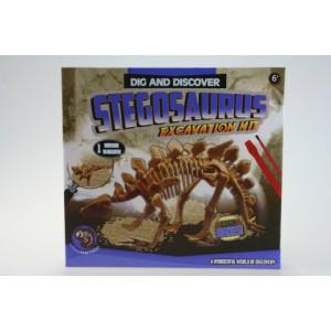 Archeologické tesání- Stegosaurus - Cena : 94,- Kč s dph