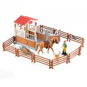 Sada ohrada pro koně se stájí - Cena : 279,- Kč s dph