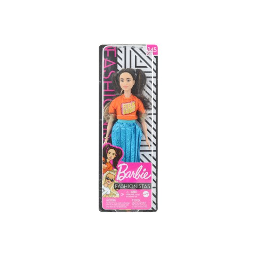 Barbie Modelka - zářivé šaty GHW59 - Cena : 358,- Kč s dph