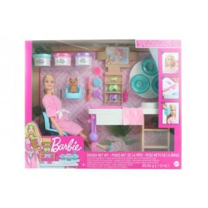 Barbie Salón krásy herní set s běloškou GJR84 TV 1.9.-31.12.2020 - Cena : 893,- Kč s dph