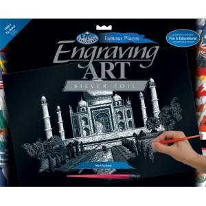 Seškrabovací obrázek- Taj Mahal - Cena : 239,- Kč s dph