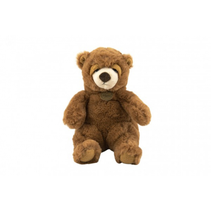 Medvěd sedící hnědý plyš 16x24x20cm 0+ - Cena : 251,- Kč s dph