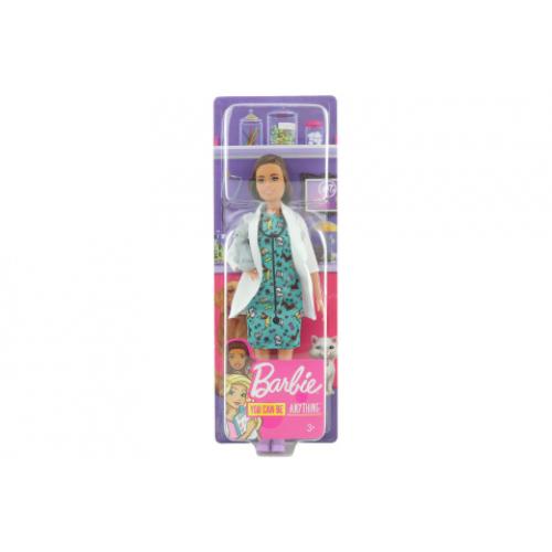 Barbie První povolání - veterinářka O/S GJL63 - Cena : 330,- Kč s dph