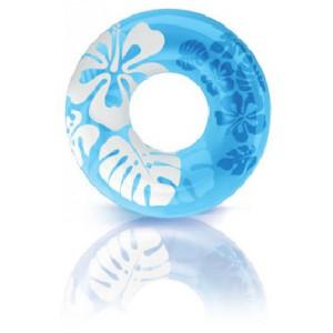 Kruh plovací  Květiny 91 cm - Cena : 99,- Kč s dph