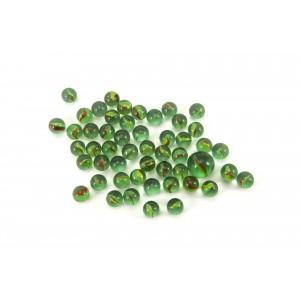 Kuličky cvrnkací skleněné cca 50ks 1,5cm - Cena : 49,- Kč s dph