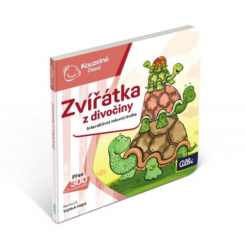 Kouzelné Čtení Minikniha pro nejmenší - Zvířátka z divočiny - Cena : 179,- Kč s dph