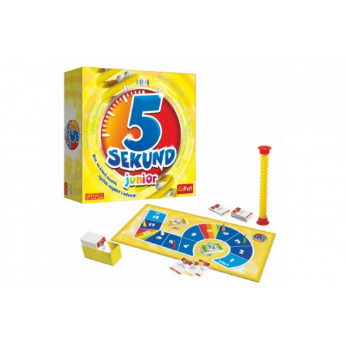 5 Sekund junior společenská hra v krabici 26x26x8cm CZ verze - Cena : 898,- Kč s dph