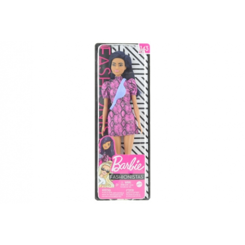 Barbie Modelka - šaty se vzorem hadí kůže GHW57 - Cena : 272,- Kč s dph