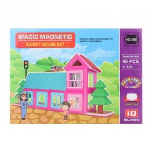 Magnetická stavebinice 40 ks - Cena : 730,- Kč s dph