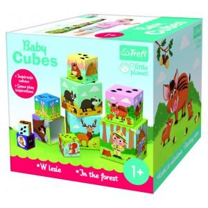 Papírové kostky dětské v lese - Cena : 288,- Kč s dph