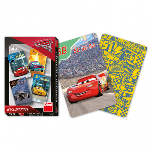 CARS 3 Kvarteto - Cena : 54,- Kč s dph
