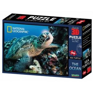 Puzzle 3D 500 dílků, gorily, sloni, Řím - 3 druhy - Cena : 258,- Kč s dph