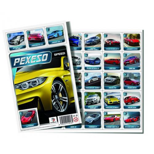 pexeso Auto Speed - Cena : 29,- Kč s dph