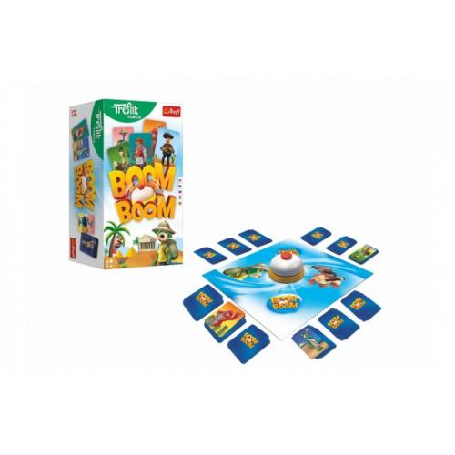 Boom Boom Rodina Trefliků společenská hra v krabici 14x26x10cm - Cena : 485,- Kč s dph