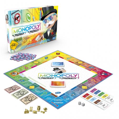 Monopoly pro mileniály - Cena : 460,- Kč s dph