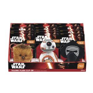 Star Wars VII: Mini mluvící plyšová hračka 10 cm - různé druhy - Cena : 65,- Kč s dph