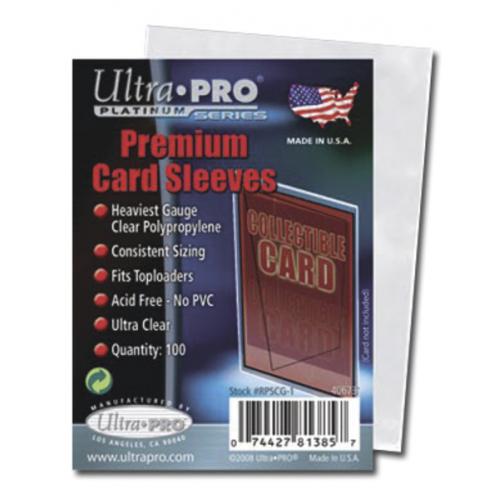 UltraPro: Platinum Premium Card Sleeves - Cena : 64,- Kč s dph