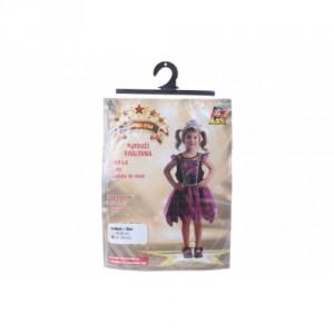 Šaty na karneval - pavoučí královna, 92 - 104 cm - Cena : 376,- Kč s dph
