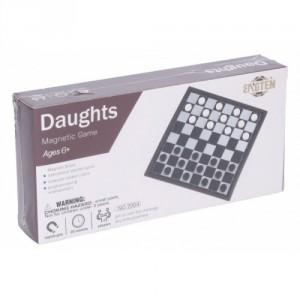 Dáma magnetická společenská hra v krabici 20x10x4cm - Cena : 125,- Kč s dph