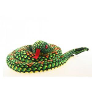Plyš Had zelený velký - Cena : 276,- Kč s dph
