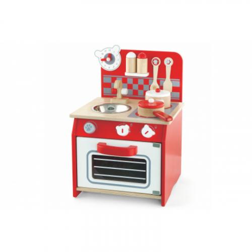 Dřevěná mini kuchyňka - Cena : 1177,- Kč s dph