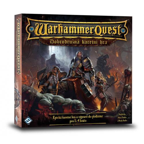 Warhammer Quest : Dobrodružná karetní hra - Cena : 389,- Kč s dph