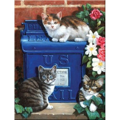 Malování podle čísel- Poštovní schránka - Cena : 171,- Kč s dph