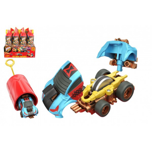 Auto Boom City Racers plast mix druhů v plastové tubě 21x6,5x6cm 12ks v boxu - Cena : 260,- Kč s dph
