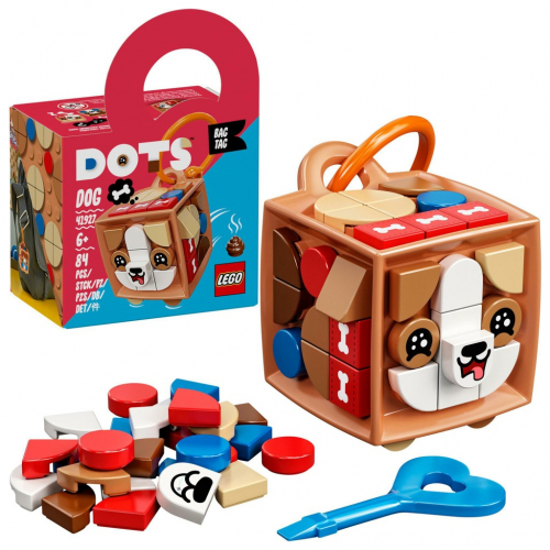 LEGO® DOTS 41927 Ozdoba na tašku – pejsek - Cena : 137,- Kč s dph