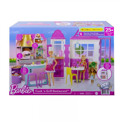 Barbie RESTAURACE HERNÍ SET - Cena : 1599,- Kč s dph