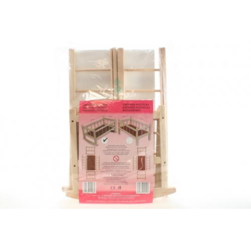 Kolébka dřevěná - Cena : 348,- Kč s dph