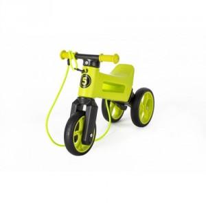 Odrážedlo FUNNY WHEELS Rider SuperSport zelené 2v1+popruh, výš. sedla 28/30cm nos. 25kg 18m+ vsáčku - Cena : 949,- Kč s dph