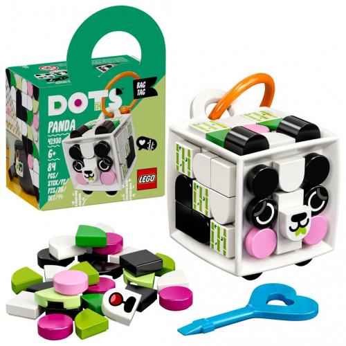 LEGO® DOTS 41930 Ozdoba na tašku – panda - Cena : 137,- Kč s dph