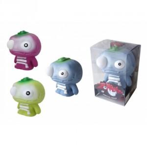 Zombeezz figurka 12cm střílející okem guma + 5ks míčků  2 barvy v plastové krabičce 10x15x10cm - Cena : 149,- Kč s dph