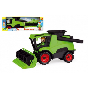 Auto Truckies kombajn plast 20cm s figurkou v krabici 24m+ - Cena : 206,- Kč s dph